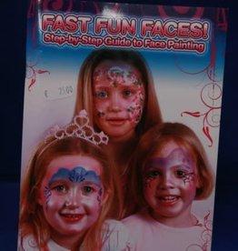 Kryolan boek fast fun faces