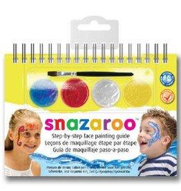 Snazaroo step by step universeel