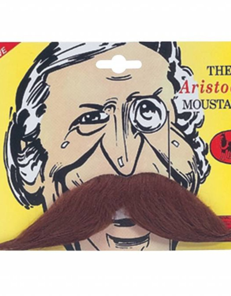 Bristol Novelty Ltd. snor aristcrat bruin