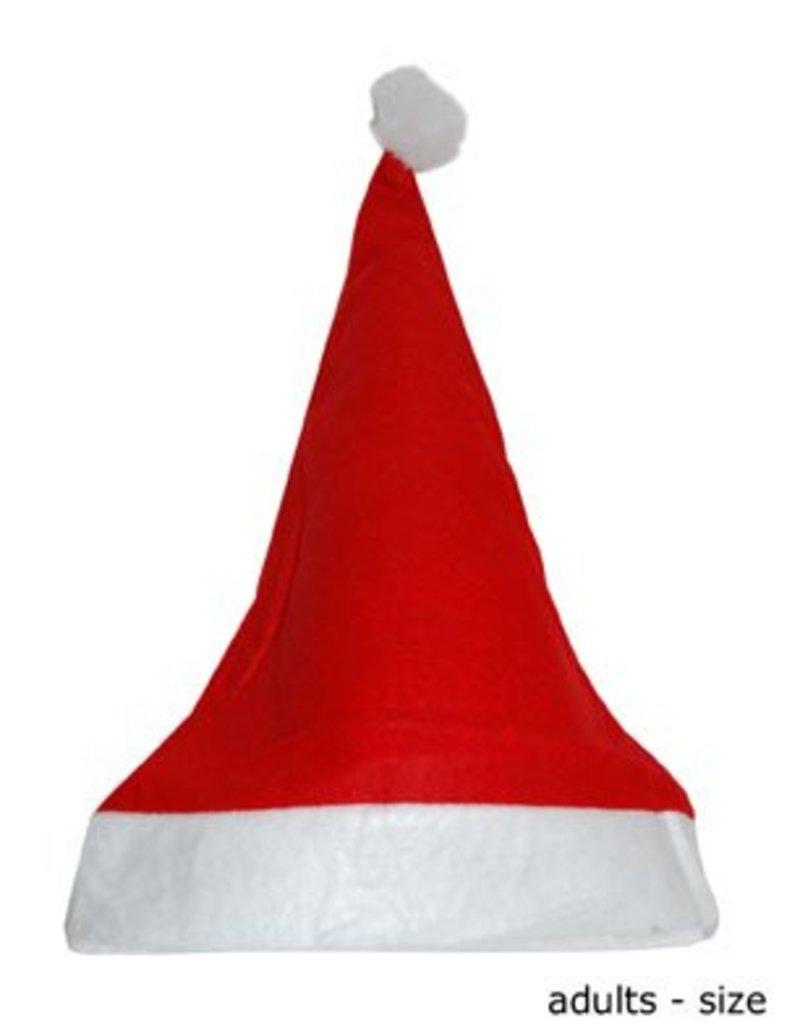 AUGUSTIJNEN kerstmuts fleece ass. maten