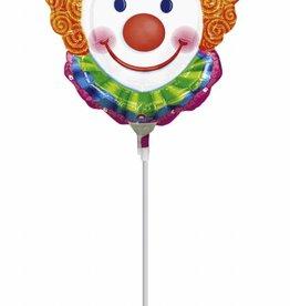 Sempertex avalloons ballon op stokje clown