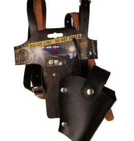 FARAM revolverholster politie zwart