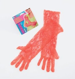 Bristol Novelty Ltd. handschoenen neon oranje