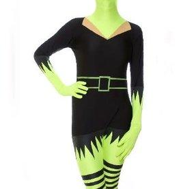 Morphsuits AFG Media ltd morphsuit groene heks XL