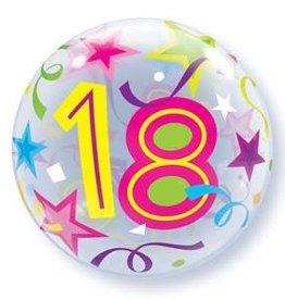 Sempertex avalloons bubbles met 18 op, met helium.
