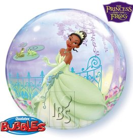 IBS bubbles ballon princes en de kikker met helium