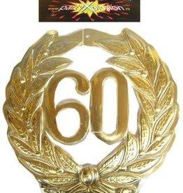 Partyxplosion plakkaat 60
