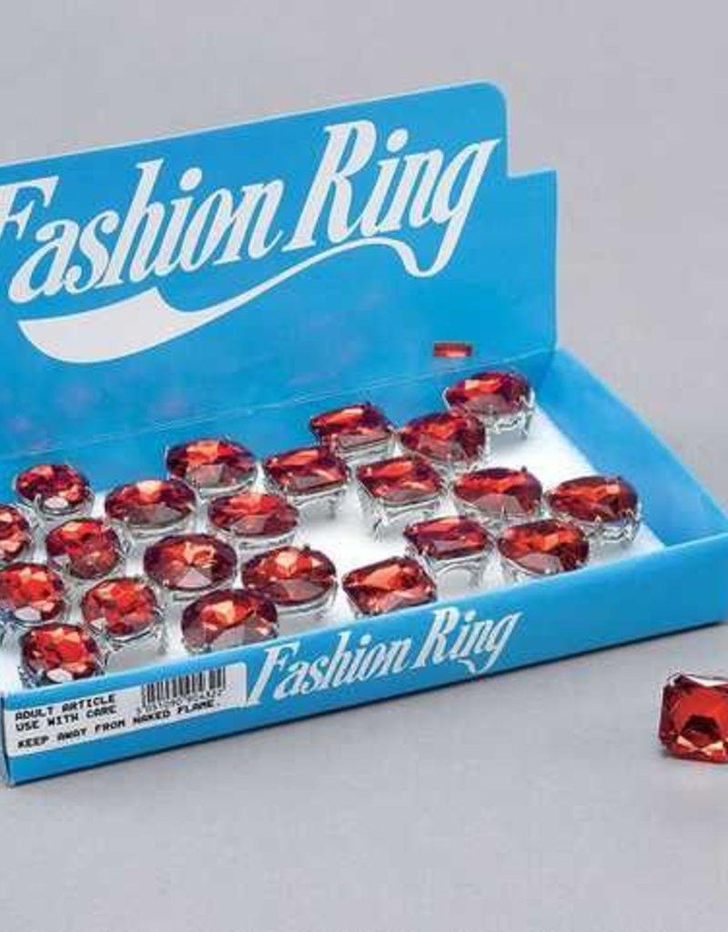 Bristol Novelty Ltd. ringen rode steen ass.