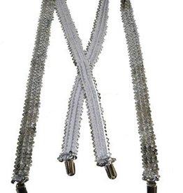 ESPA Bretellen zilver pailletten
