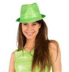 FARAM hoed disco neon groen
