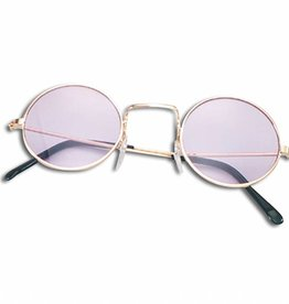 Bristol Novelty Ltd. hippie bril paars