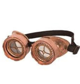 FARAM bril steam punk brons tandwiel