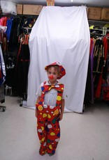 AUGUSTIJNEN Clownbroek met strik en pet huurprijs 10