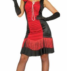 FIESTAS GUIRCA Charleston rood-zwart