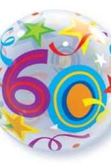 Sempertex avalloons bubbles balloon happy birdhay 60