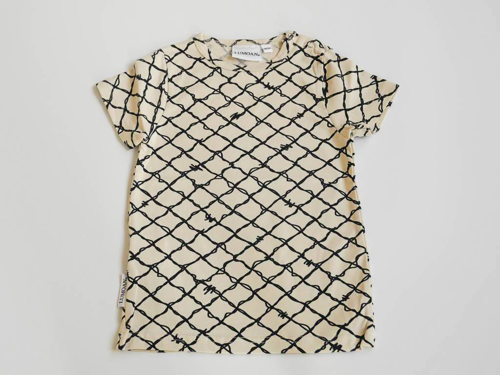 LUMOAN -  T-Shirt unisex schwarz-weiss