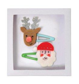 Speldjes rendier & kerstman