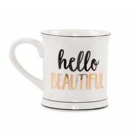 Tas goudfolie Hello Beautiful