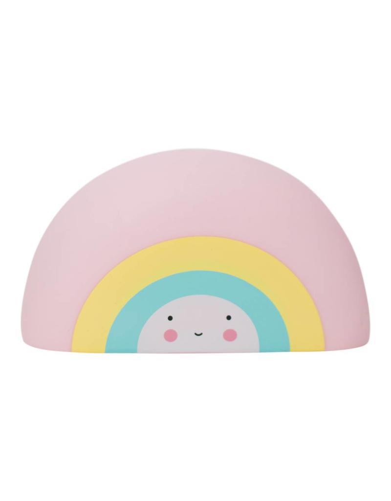Badspeeltje regenboog