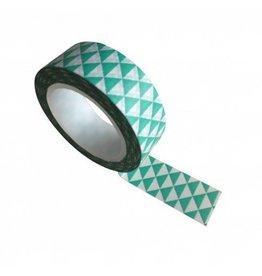washi tape wit / turq. triangle