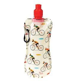 Opvouwbare drinkfles fiets