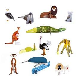 Wilde dieren 3D
