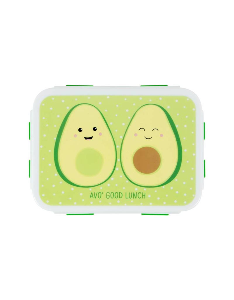 Brooddoos avocado