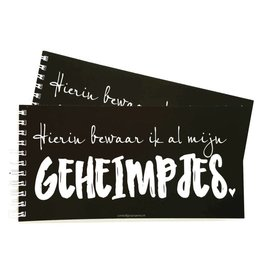 notaboekje geheimpjes