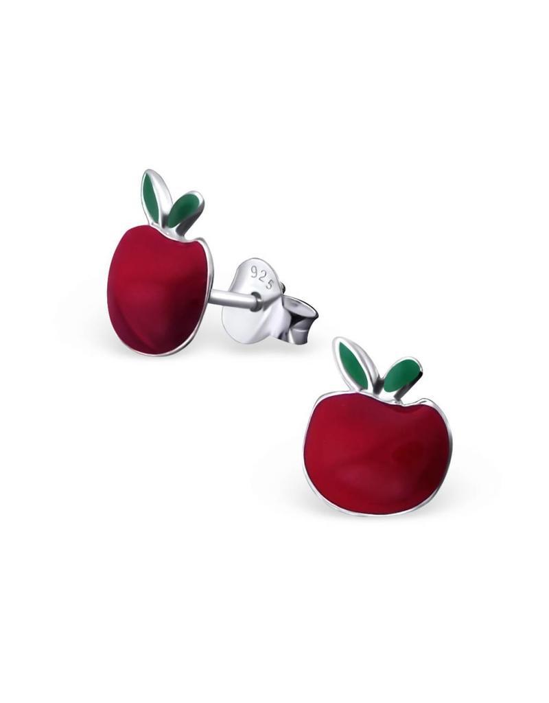 Stekertjes zilver appel