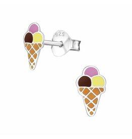Stekertjes zilver ijsje