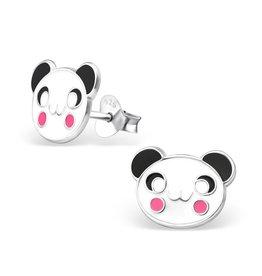 Stekertjes zilver panda