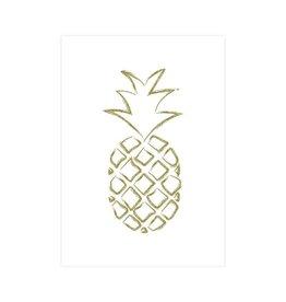 Postkaart ananas