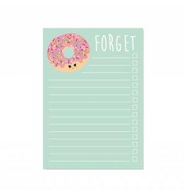 Notablok A6 donut forget