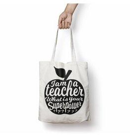 Tote leerkracht zwart