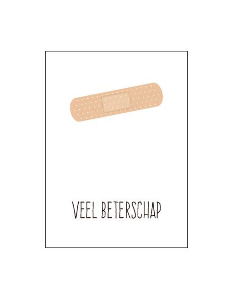 Postkaart Veel beterschap