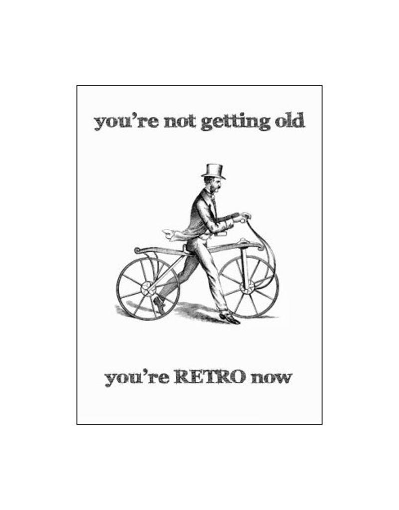 Postkaart You're RETRO now