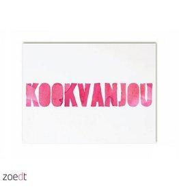 postkaart Kookvanjou