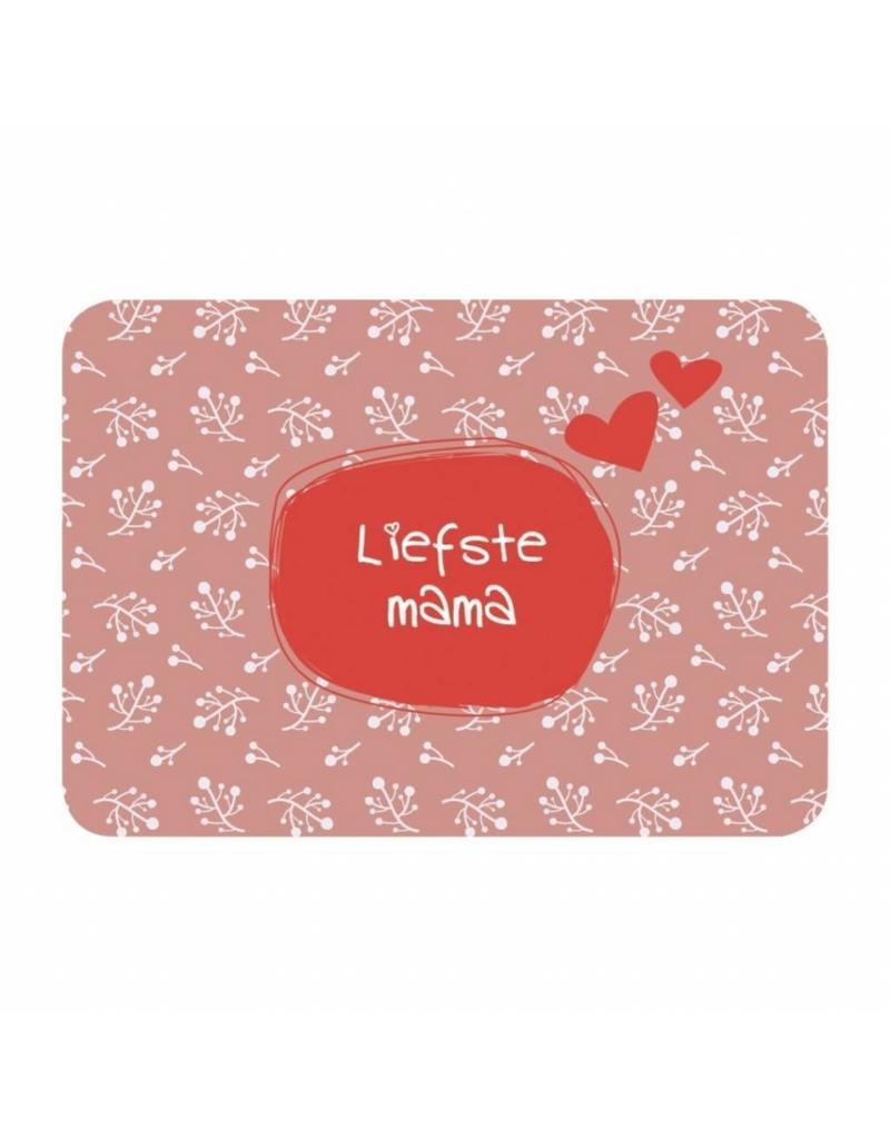 Postkaart Liefste mama