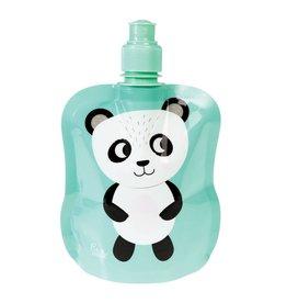 Opvouwbare drinkfles panda