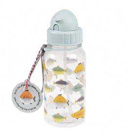 Fles rietje vissen