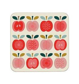 Onderzetter glas appel