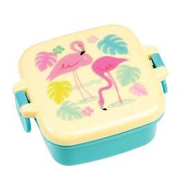 Snackdoosje flamingo