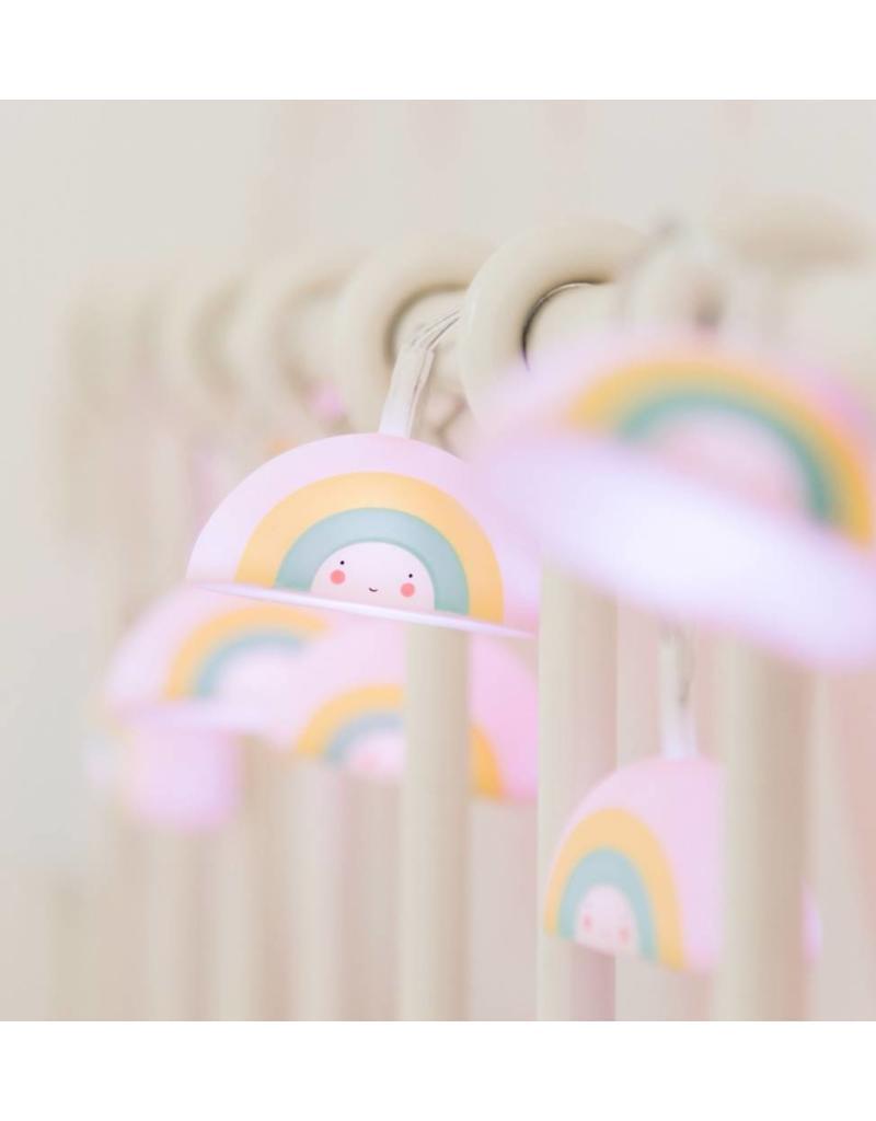Lichtslinger regenboog