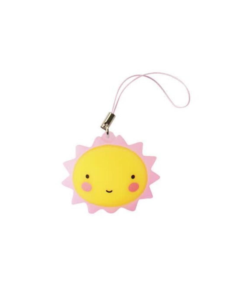 Sleutelhangertje zon