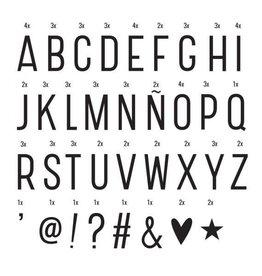 Letterset lightbox basic