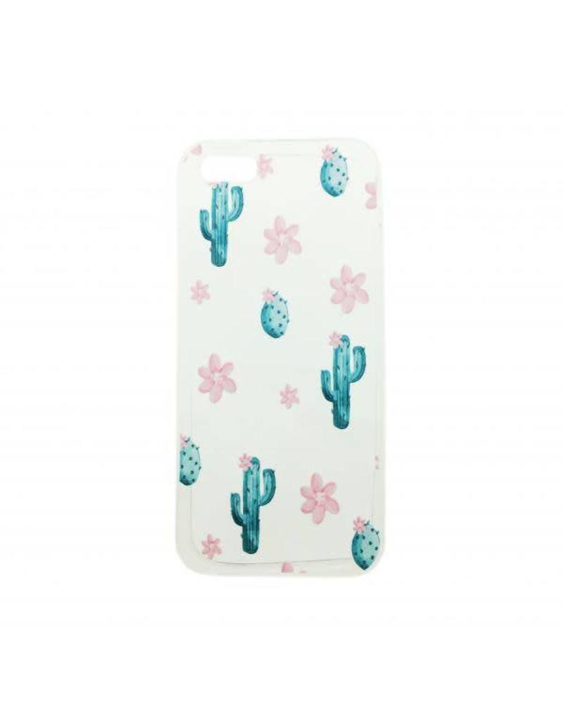 Hoesje iPhone cactus 7+