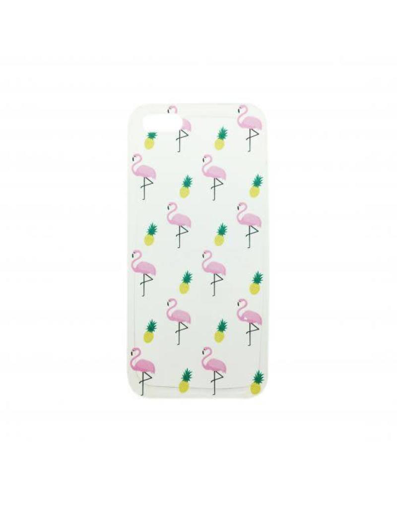 Hoesje iPhone flamingo 5