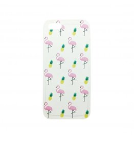 Hoesje iPhone flamingo 7