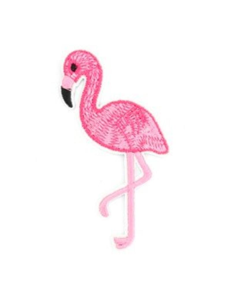 Patch flamingo