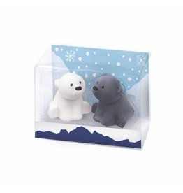 Gommetjes ijsbeer